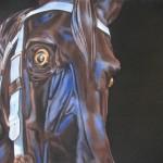 Lea, Carousel Warhorse, 2009, acrylic